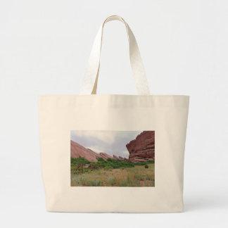 Trading Post Trail Rock Landmarks Large Tote Bag