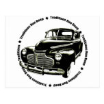 traditional 1941 Chevy Coupe Postcard