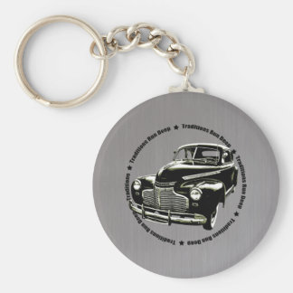 traditional 1941 Chevy Coupe steel Keychain