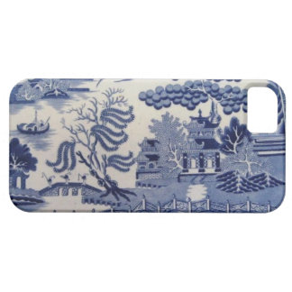 Traditional 19th Century Blue Willow China Case iPhone 5 Case