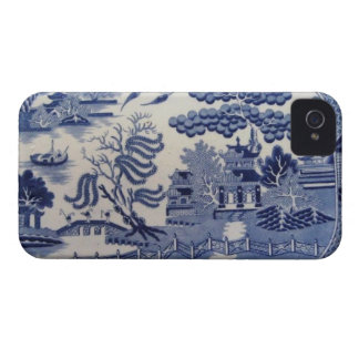 Traditional 19th Century Blue Willow China iphone4 iPhone 4 Case-Mate Case