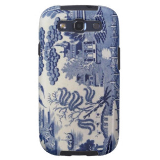 Traditional 19th Century Blue Willow  Samsung3 Samsung Galaxy S3 Cases