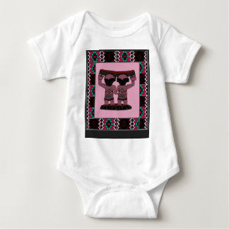 Traditional African art designs Baby Bodysuit