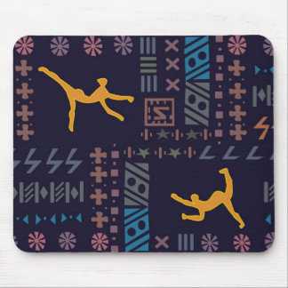 Traditional African dancers Mouse Pad