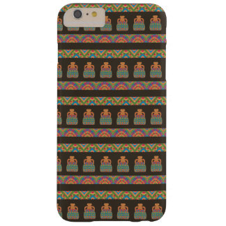 Traditional African Tribal Pottery Pattern Barely There iPhone 6 Plus Case