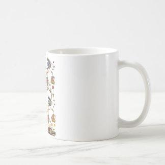 Traditional Albemarle Jacobean Embroidery Coffee Mug