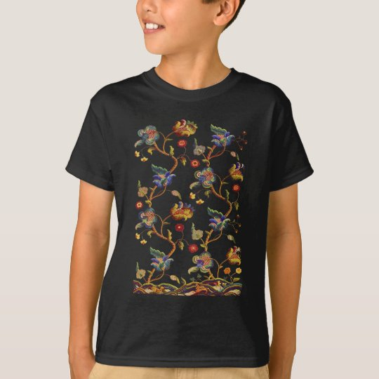 Traditional Albemarle Jacobean Embroidery T-Shirt