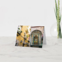 Traditional Altar in Naples Card