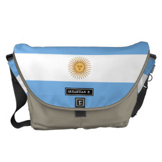 Traditional Argentina Flag Courier Bag
