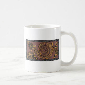 Traditional Art from North Africa, African Artwork Classic White Coffee Mug