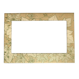 Traditional Autumn Falling Leaves Magnetic Frame