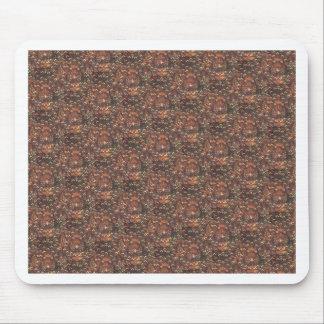 Traditional Batik Cuwiri Pattern Mouse Pad