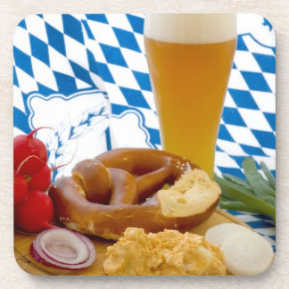 Traditional Bavarian Snack Beverage Coaster