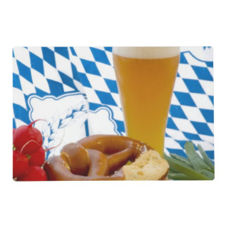 Traditional Bavarian Snack Placemat