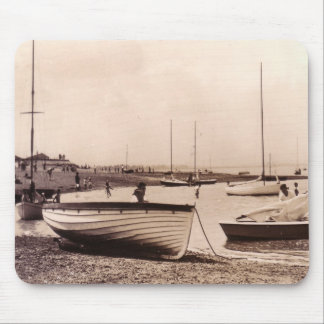 Traditional Boats Beach at Stone, UK Mouse Pad