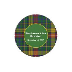 Traditional Buchanan Clan Custom Candy Tin at Zazzle