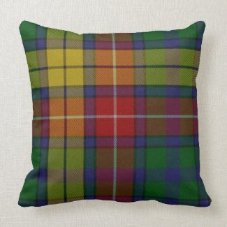 Traditional Buchanan Tartan Plaid Pillow