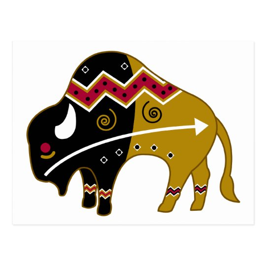 Traditional Buffalo Postcard