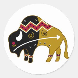 Traditional Buffalo Sticker