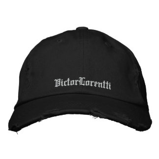Traditional cap/Victor Lorentti Embroidered Hat