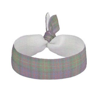 Traditional Carnegie Tartan Plaid Head Band Elastic Hair Tie