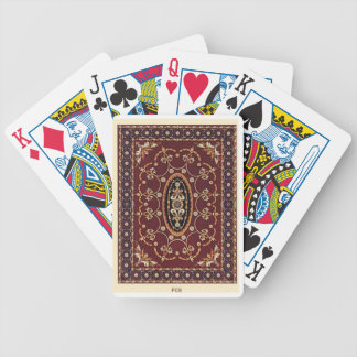 Traditional carpet Poker Playing Cards