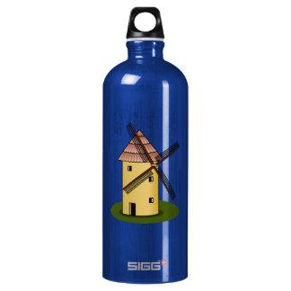 Traditional Cartoon European Windmill SIGG Traveler 1.0L Water Bottle