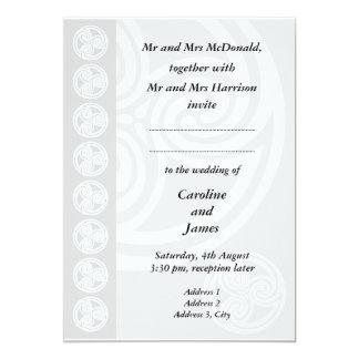 Traditional Celtic Wedding Invitation