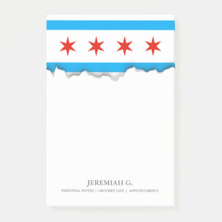 Traditional Chicago flag Post-it Notes