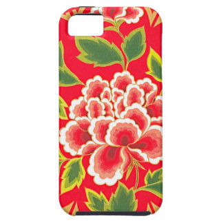 Traditional Chinese Embroidery Design iPhone SE/5/5s Case