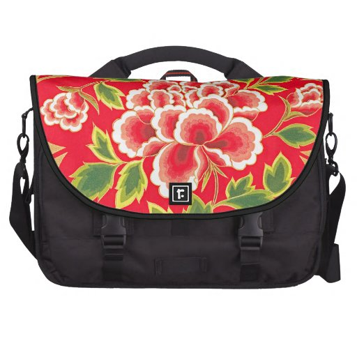 Traditional Chinese Embroidery Design Laptop Bags