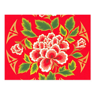Traditional Chinese Embroidery Design Postcards