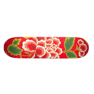 Traditional Chinese Embroidery Design Skateboard