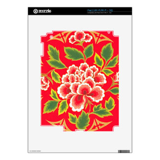 Traditional Chinese Embroidery Design Skin For The iPad 2