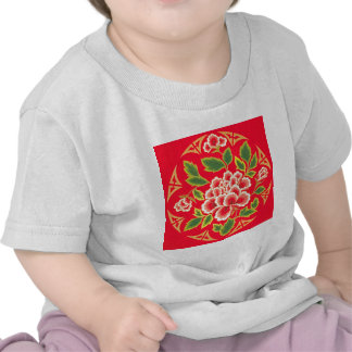 Traditional Chinese Embroidery Design Tshirts