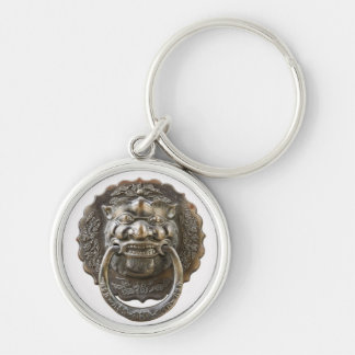 Traditional Chinese knocker Keychain