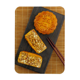 Traditional Chinese mixed nut moon cake Magnet