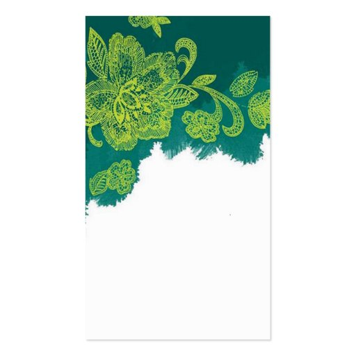 traditional chinese painting business card templat