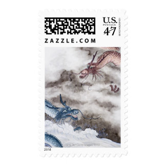 Traditional Chinese Painting, Year Of The Dragon 2 Postage