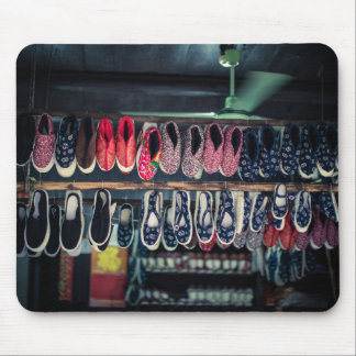 Traditional Chinese Shoes mouse mat