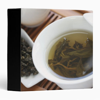 Traditional Chinese tea ceremony: oolong tea Binder