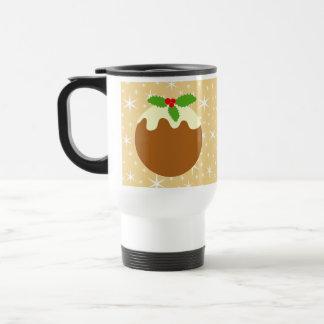 Traditional Christmas Pudding. Coffee Mugs