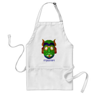 Traditional Colorful Thai Mask Aprons