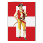 Traditional Costumes of Appenzell Innerrhoden Greeting Cards