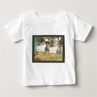 Traditional Cow Statue Art from Indian Suraj Kund Baby T-Shirt