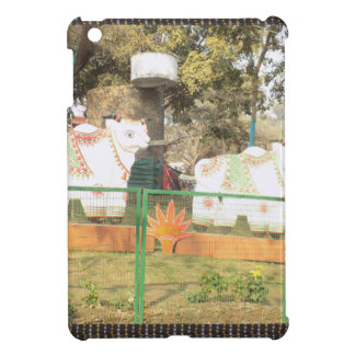 Traditional Cow Statue Art from Indian Suraj Kund Case For The iPad Mini