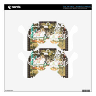 Traditional Cow Statue Art from Indian Suraj Kund PS3 Controller Decal