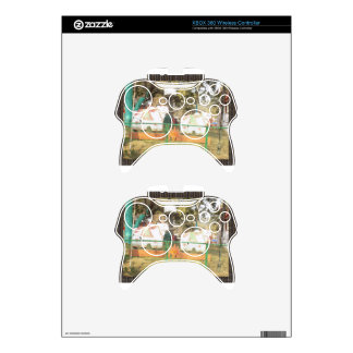 Traditional Cow Statue Art from Indian Suraj Kund Xbox 360 Controller Skin