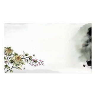 traditional cultural chinese style card template business cards