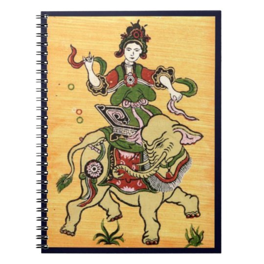 Traditional culture notebook